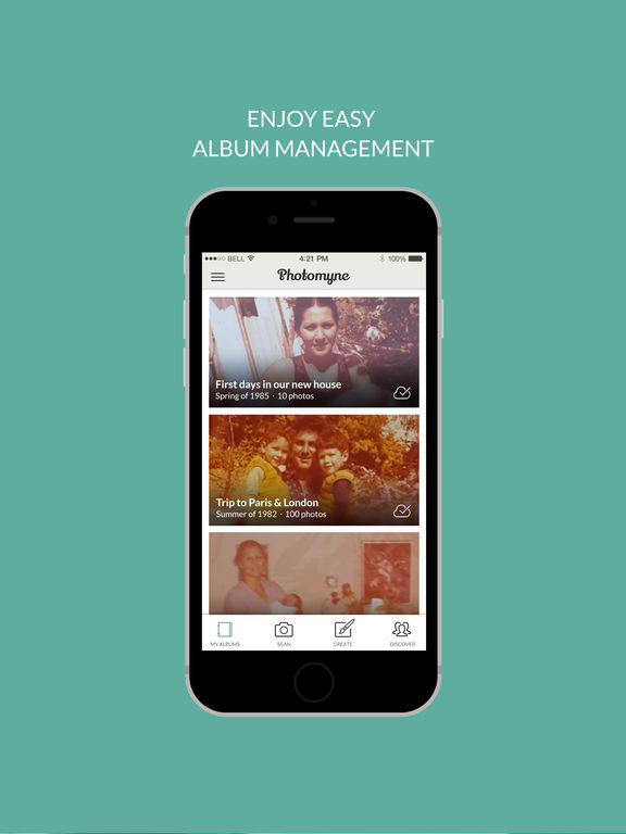 Photomyne - Album Scanner - Full Screenshots