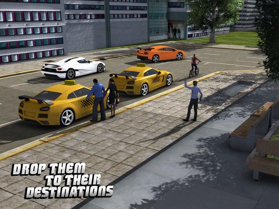 Такси Driver 3D симулятор - Сумасшедший и весело вождение автомобиля и парковка вызов игры Скриншоты6