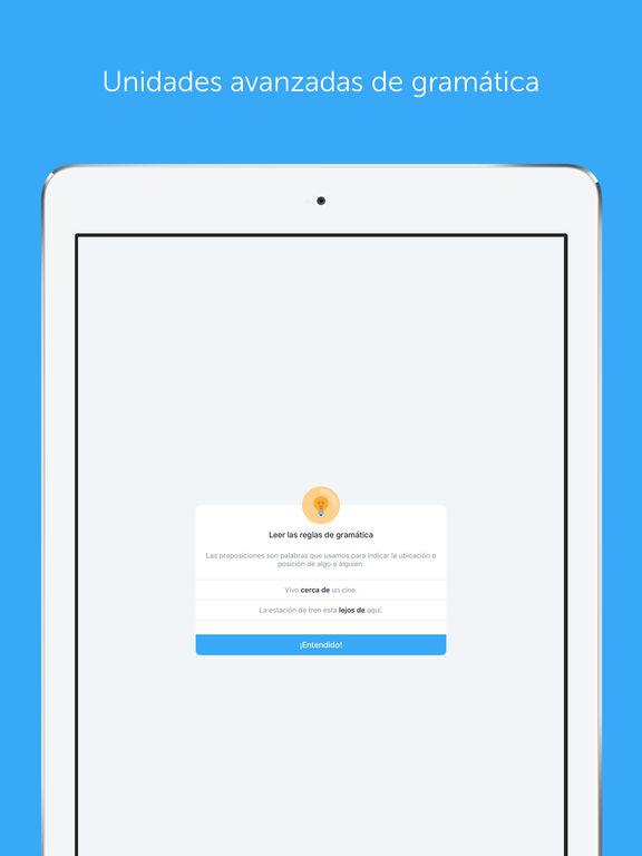 Captura de pantalla del iPad 3