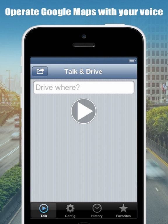 Talk And Drive For Google Maps Screenshots