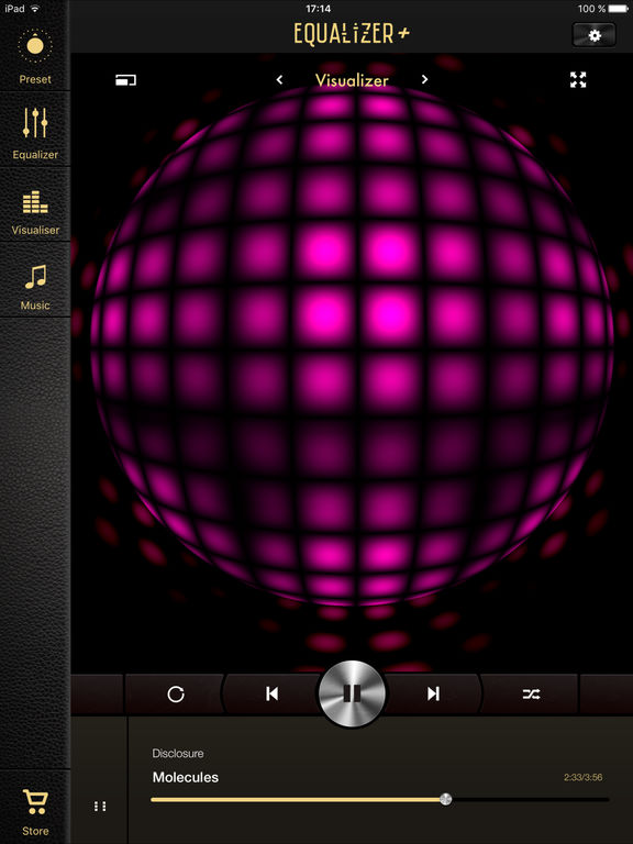 Equalizer + (Music Player Volume Quality Booster) screenshot