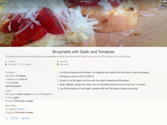 SavouryPot - Recipe Manager & Personal Cookbook Screenshots