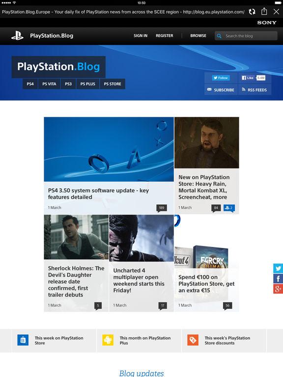 PlayStation®App Screenshots