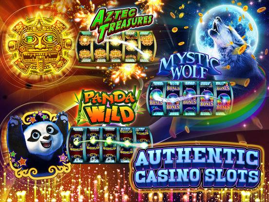 Slots Vegas Lights - 5 Reel Deluxe Casinoscreeshot 1