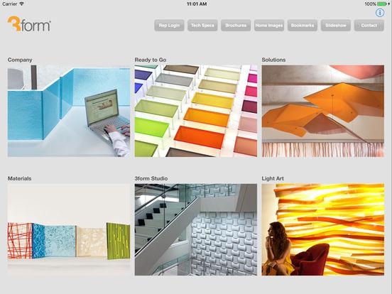 3form Presentations iPad Screenshot 1