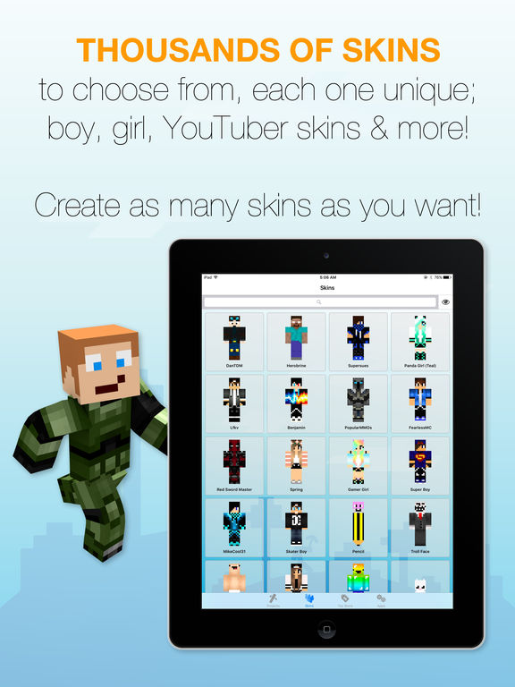 Skin Creator for Minecraft screenshot 8