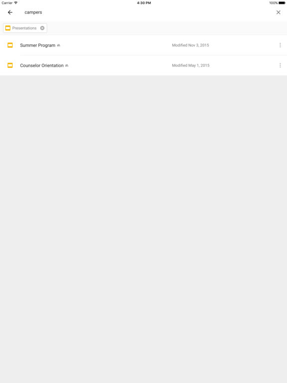 Google Drive - free online storage Screenshot