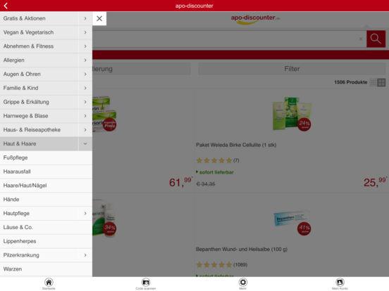 ApoDis Apotheke iPad Screenshot 2