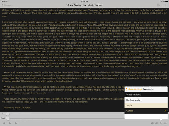 Ghost Stories – AudioEbook (English) iPad Screenshot 1