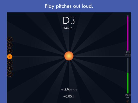 Tuna Pitch chromatic tuner iPad Screenshot 3