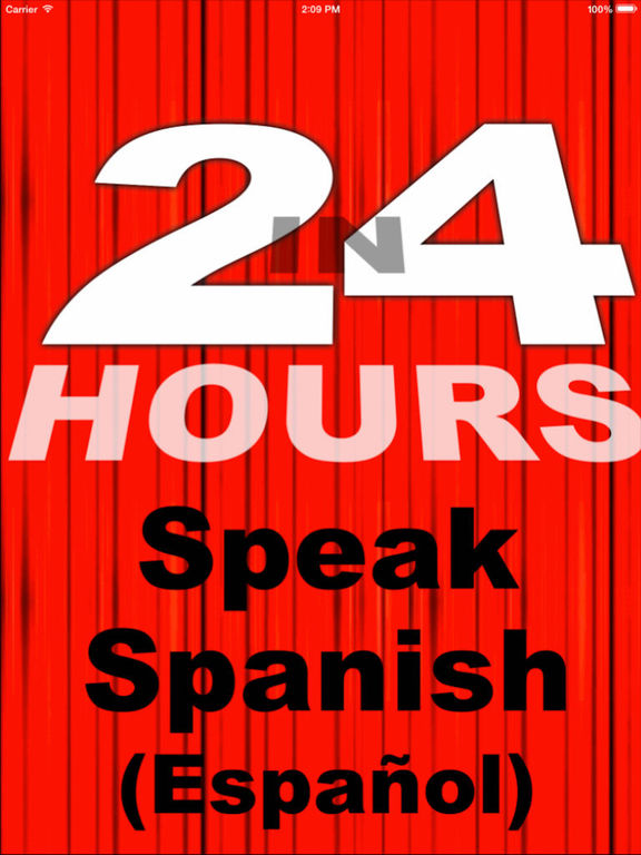 In 24 Hours Learn to Speak Spanish screenshot