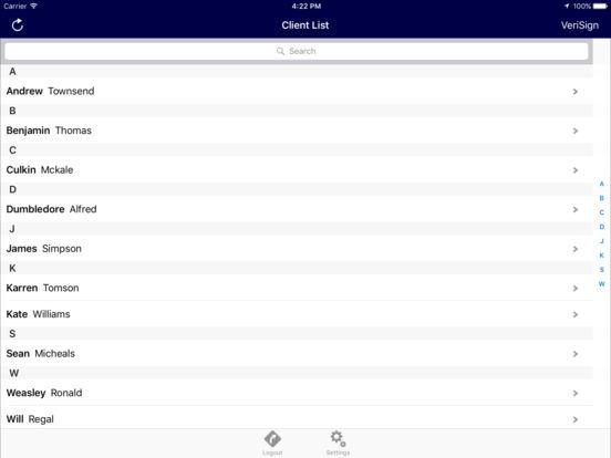 SJP Partner Online Assistant iPad Screenshot 3