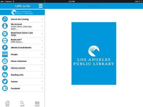 LAPL to Go iPad Screenshot 1