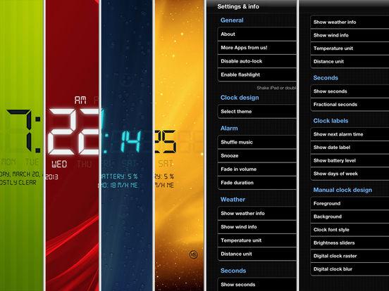 Alarm Clock 4 Free iPad Screenshot 5
