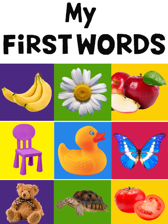 Toddlers My Baby First Words Flash Cards Free - AppRecs
