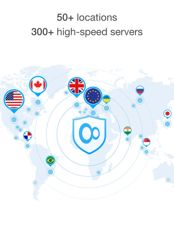VPN Unlimited - Encrypted, Secure & Private Internet Connection for Anonymous Web Surfing screenshot