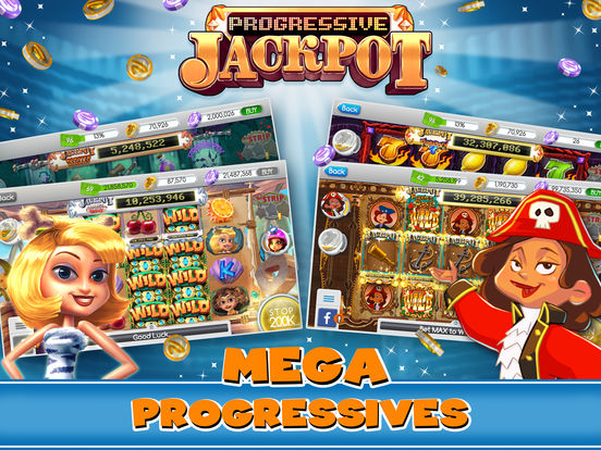 Screenshots of myVegas Slots - Play Real Las Vegas Casino Games, Tons of Fun Slot Machines, and Spin & Win a Jackpot for Free for iPad
