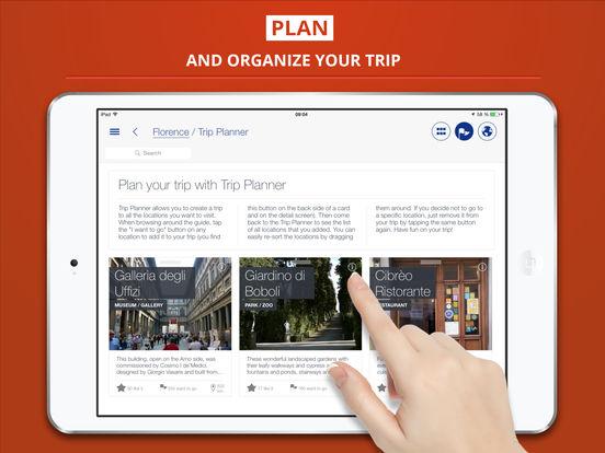 Florence tripwolf travel guide iPad Screenshot 3
