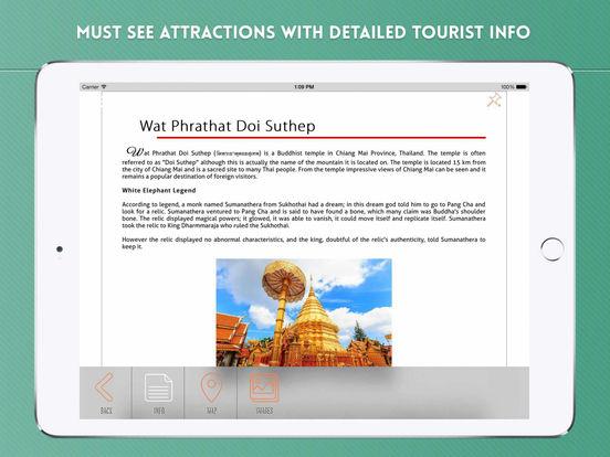 Chiang Mai Travel Guide iPad Screenshot 3