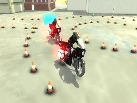 Police Motorcycle Training : 911 School Academy на iPad