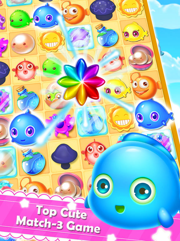 App shopper charm fish mania best king of crush heroes for Fish mania game