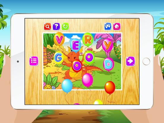 Мультфильм Дракон Пазлы для детей - Детский сад Обучение Игры Бесплатно Скриншоты7