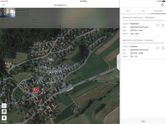 homegate.ch iPad Screenshot 5