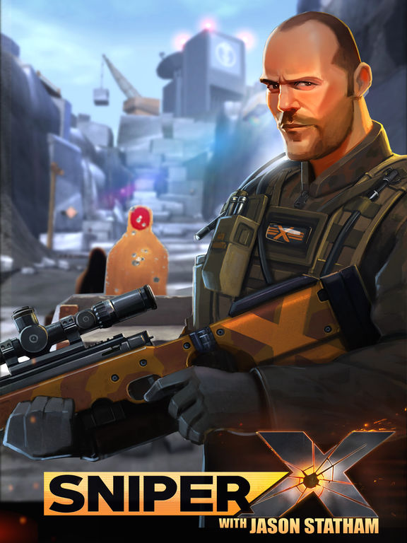 Sniper X with Jason Stathamscreeshot 5