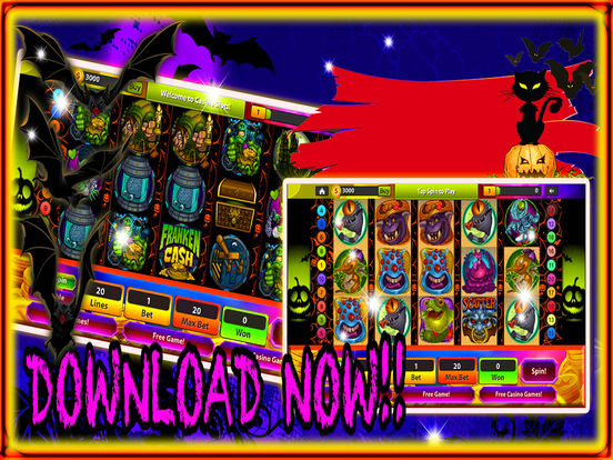 Halloween Riches Slot - Play Bede Gaming Slots for Free
