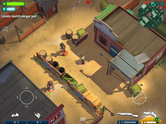 Space Marshals Screenshot