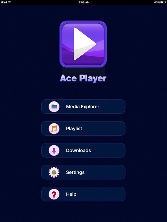 The best audio & video player : AcePlayer Screenshots