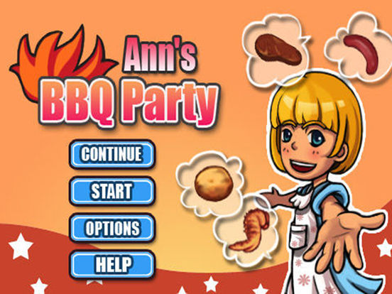 Ann's BBQ Party iPad Screenshot 1
