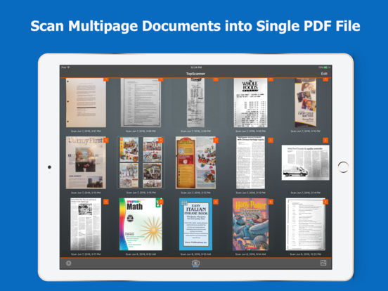 TopScanner : PDF Scanner App Screenshots