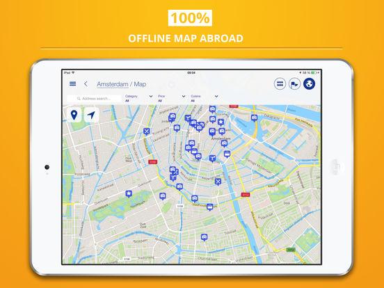 Amsterdam tripwolf travel guide iPad Screenshot 4