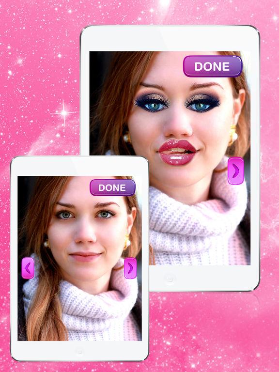 Редактировать фото с эффектами макияжа