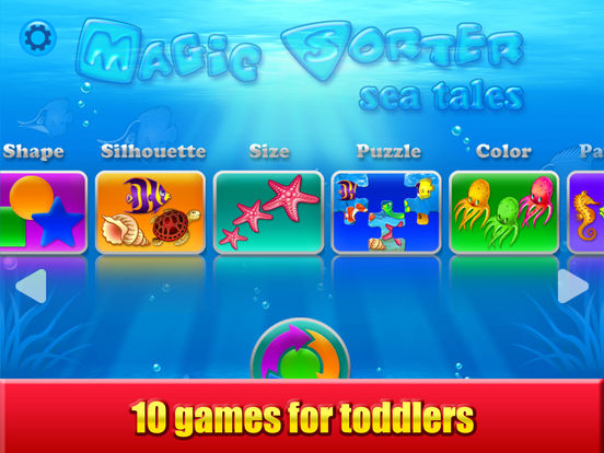 Magic Sorter: 10 learning games for toddlers, kids Screenshots