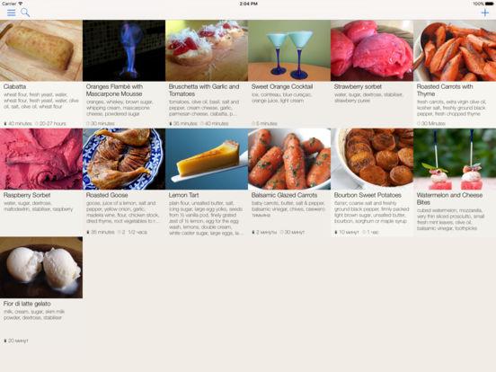 SavouryPot - Recipe Manager & Personal Cookbook Screenshots