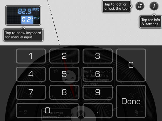 Multi Protractor iPad Screenshot 3