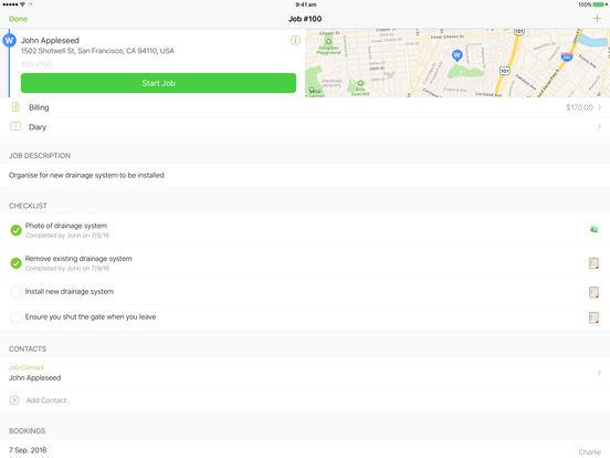 ServiceM8 iPad Screenshot 5