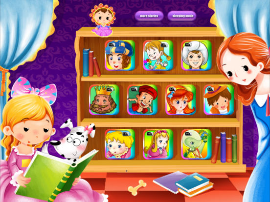 Interactive Books-Classic Fairy Tales Collection Lite-by iBigToy iPad Screenshot 1