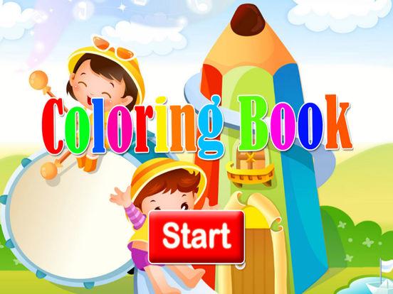 Мультфильм книжка-раскраска для малыша Скриншоты6