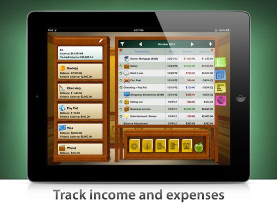 Checkbook HD iPad Screenshot 2