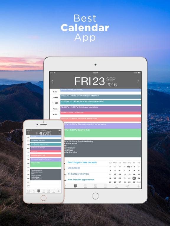 iCalendar Screenshots
