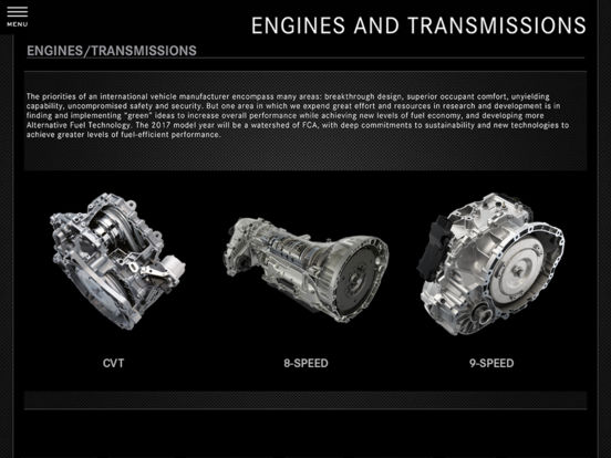 2011 Chrysler Group Fleet iPad Screenshot 2