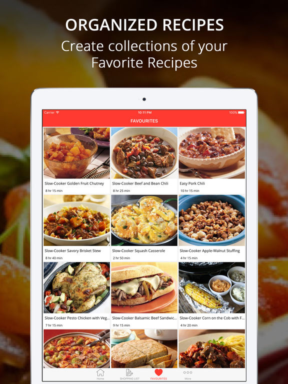 Healthy CrockPot Recipes Pro: Cook And Learn Guide Screenshots
