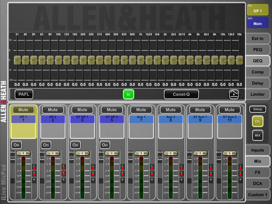 iLive MixPad iPad Screenshot 3