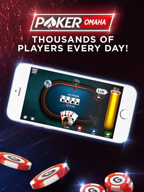 Omaha poker online free