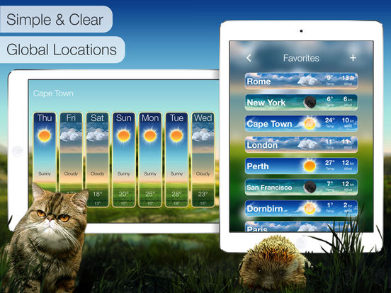Beautiful Weather: Accurate Forecasts & Severe Weather Alerts for iPhone and iPad screenshot