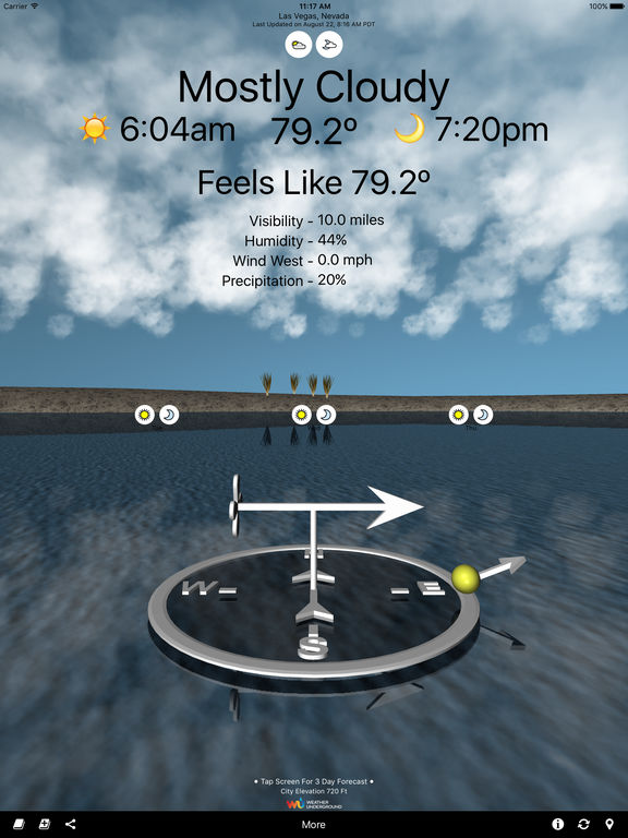 Unit Radius Releases of Weather VR for iOS - Breakthrough App Image