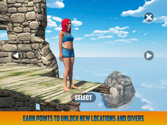 Cliff Flip Diving: Swimming Simulatorscreeshot 2